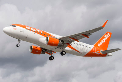 easyjet 250th Airbus aircraft in flight