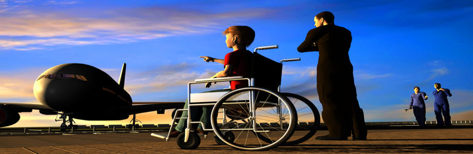 London Heathrow Poses Severe Challenges For Disabled Children