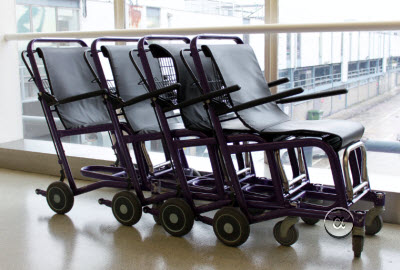 Staxi wheelchairs at Heathrow airport