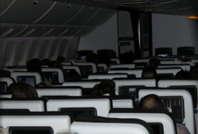 Air New Zealand Economy main cabin