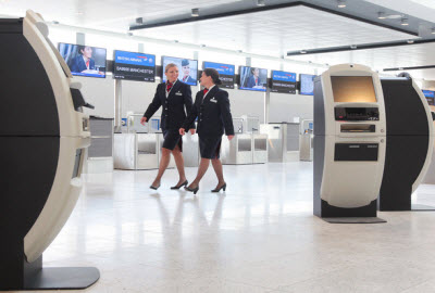 British Airways Gatwick North Terminal check-in facility