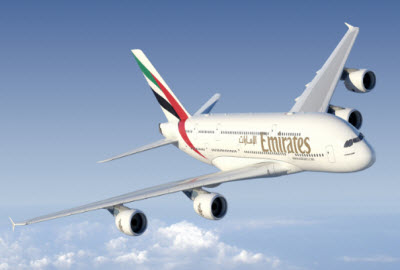 Emirates Airlines Airbus A380