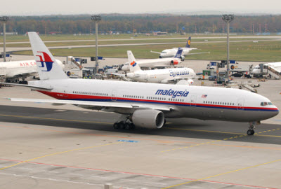 Malaysian Airlines 777-200ER aircraft