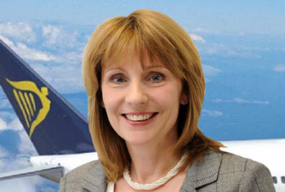 Ryanair customer service director Caroline Green