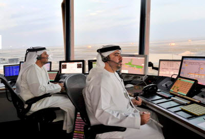 Abu Dhabi International Airport control tower