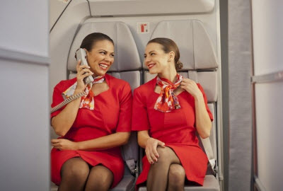 Avianca flight attendants
