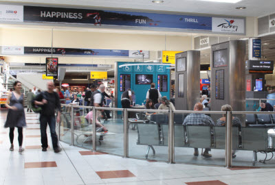 PRM waiting lounge at London Gatwick
