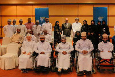 Oman Air Al Raffad workshop for disabled people