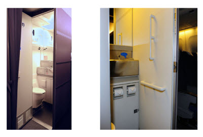 ANA accessible lavatory