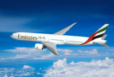 Emirates Airlines Boeing 777