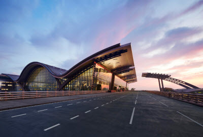 Hamad International Airport Terminal building