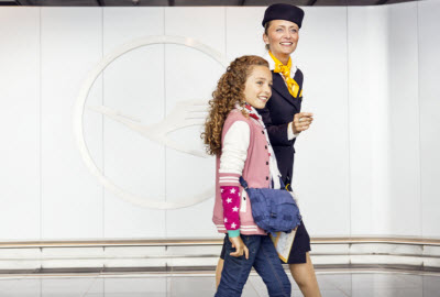 Lufthansa Unaccompanied Minor service